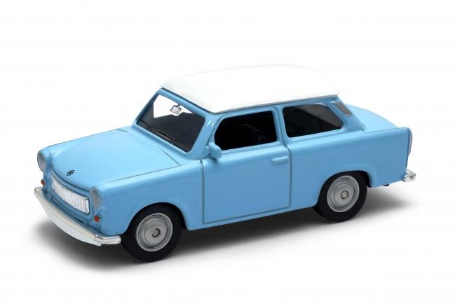 Welly - Trabant 601 1:34 s bílou střechou