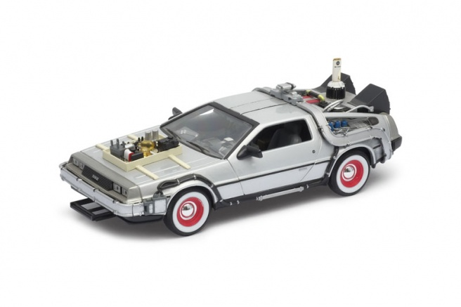 Welly Delorean Návrat do budoucnosti III model 1:24