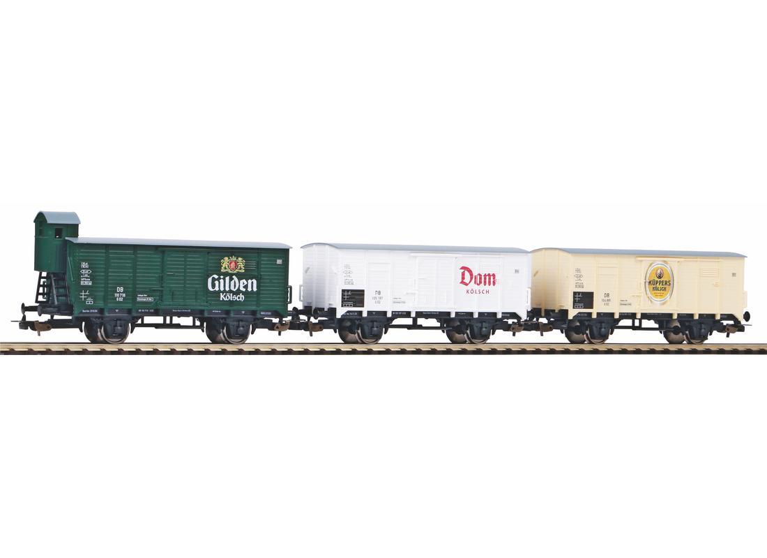 Piko Set 3 nákladních vagónů Kölsch III - 58372