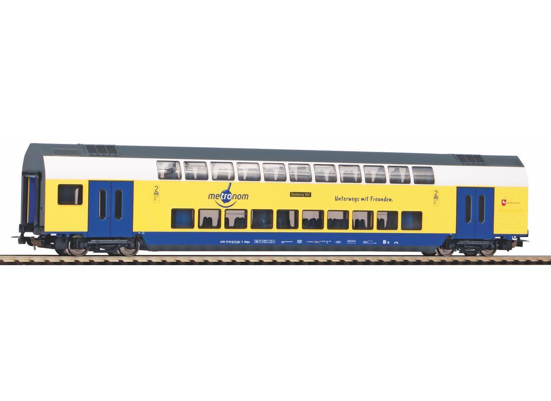 Piko Osobní dvoupatrový vagón Metronom 2.třídy VI - 58809