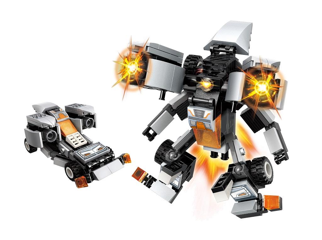 """Qman Guardian of Star's Core 3102-2 Auto """"Silver Connon"""" 2v1"""