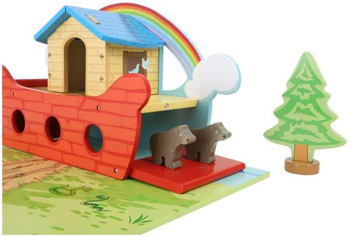 Hrací set dřevěná Noemova archa