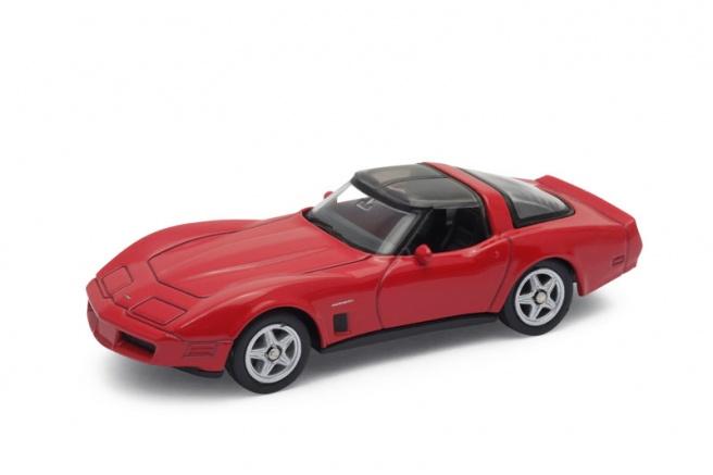 Welly - Chevrolet Corvette (1982) model 1:60