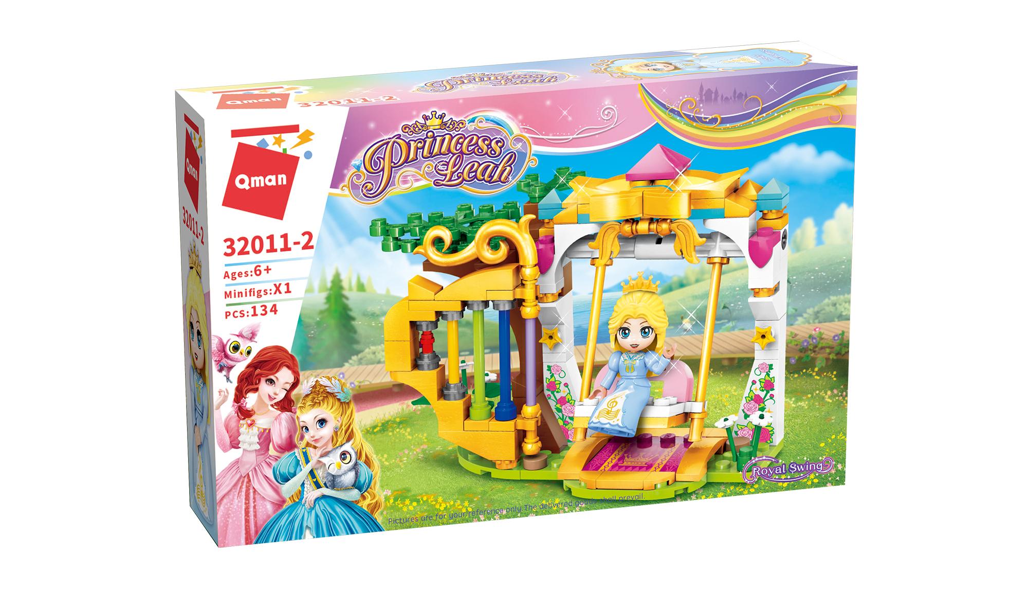 Qman Princess Leah 32011-2 Královská houpačka