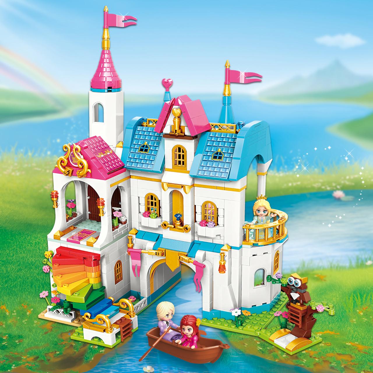 Qman Princess Leah 32014 Duhový zámek