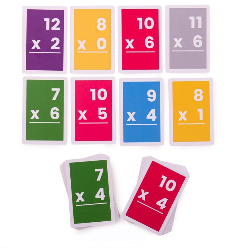 Bigjigs Toys Kartičky násobení 7-12