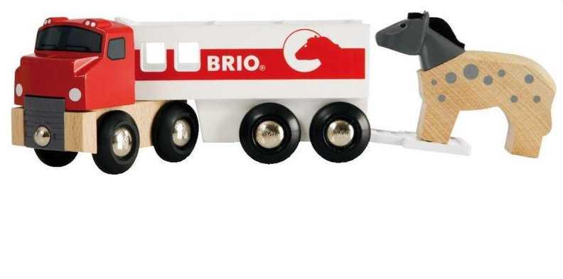 Brio - Kamión pro přepravu koní s koníkem