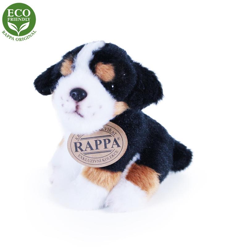 Rappa Plyšový pes sedící 11 cm ECO-FRIENDLY 1 ks - A Rappa Plyšový pes sedící 11 cm ECO-FRIENDLY 1 ks - A