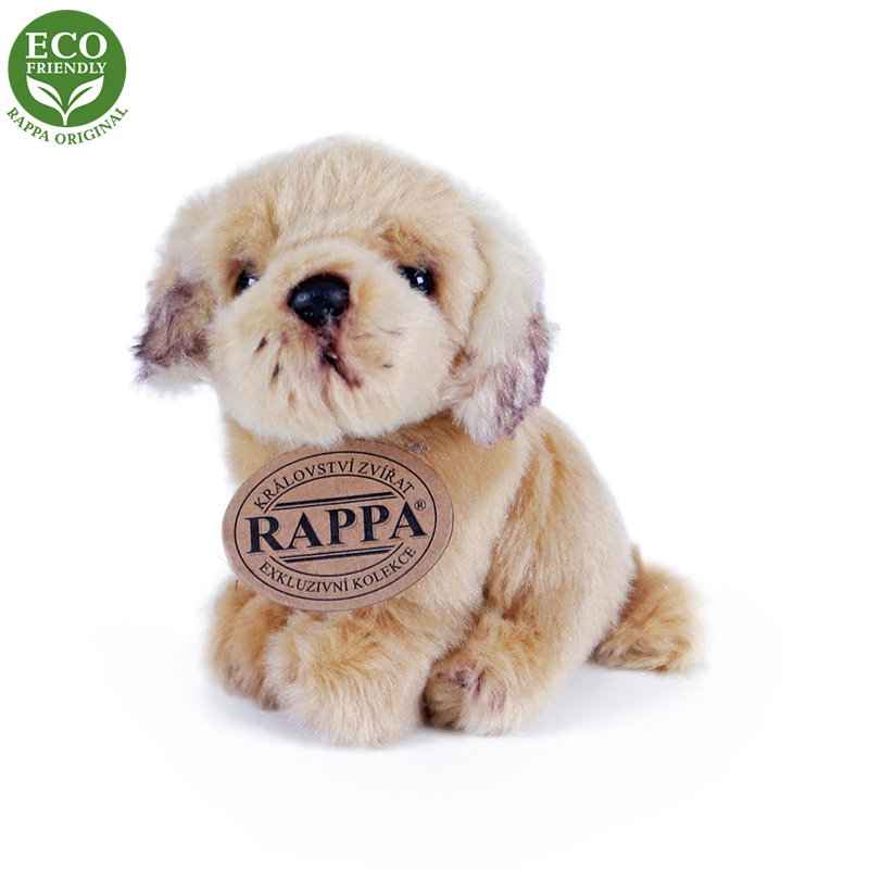 Rappa Plyšový pes sedící 11 cm ECO-FRIENDLY 1 ks - B Rappa Plyšový pes sedící 11 cm ECO-FRIENDLY 1 ks - B