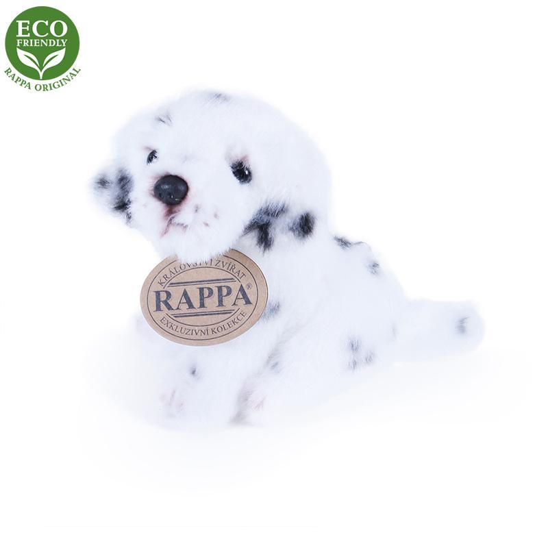Rappa Plyšový pes sedící 11 cm ECO-FRIENDLY 1 ks - F Rappa Plyšový pes sedící 11 cm ECO-FRIENDLY 1 ks - F