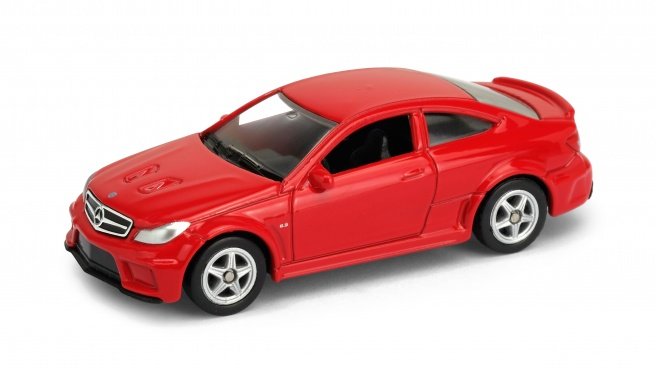 Welly - Mercedes-Benz C63 AMG Coupe model 1:60