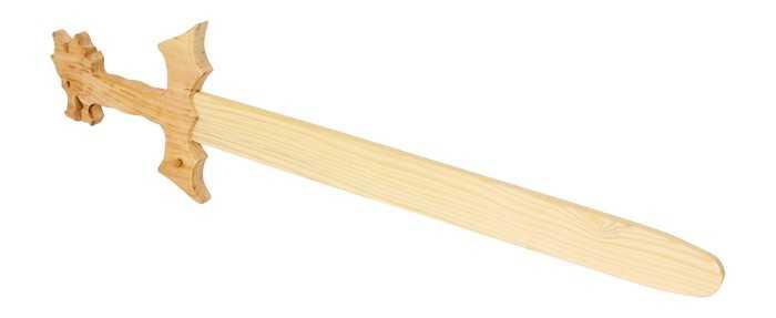 Dřevěné hračky - Dřevěný meč drak