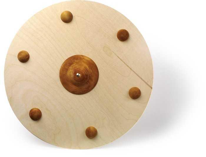 Dřevěné hračky - Vikingský štít