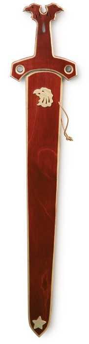 Small Foot Dřevěné hračky meč Falkensternů