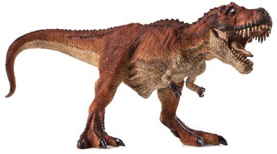 Mojo Animal Planet Tyrannosaurus červený