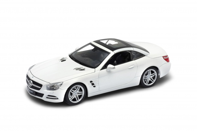 Welly - 2012 Mercedes-Benz SL 500 1:24 bílý