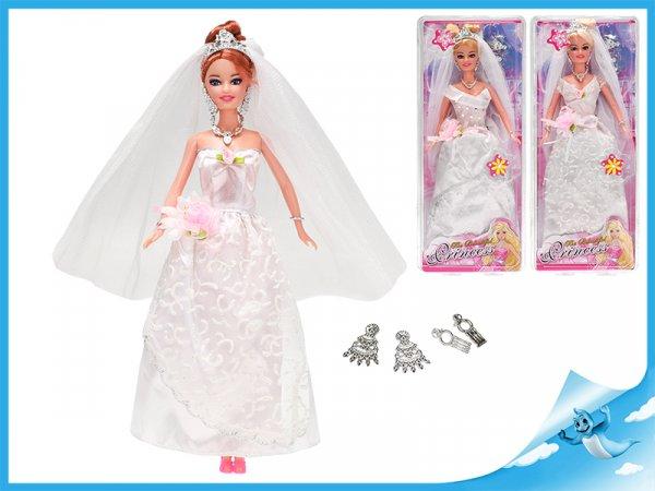 Panenka nevěsta kloubová 29cm
