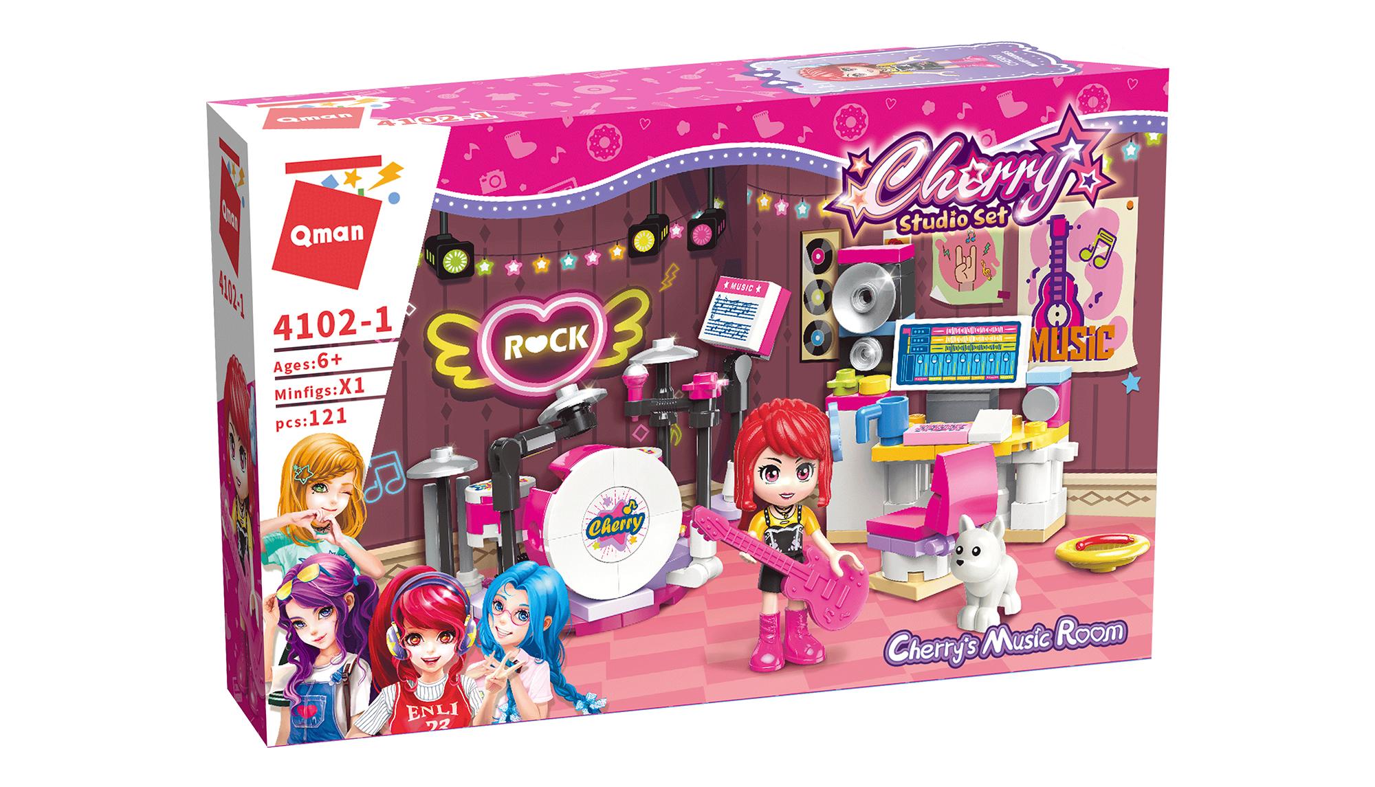 Qman Cherry 4102-1 Zkušebna Cherry Qman Cherry 4102-1 Zkušebna Cherry