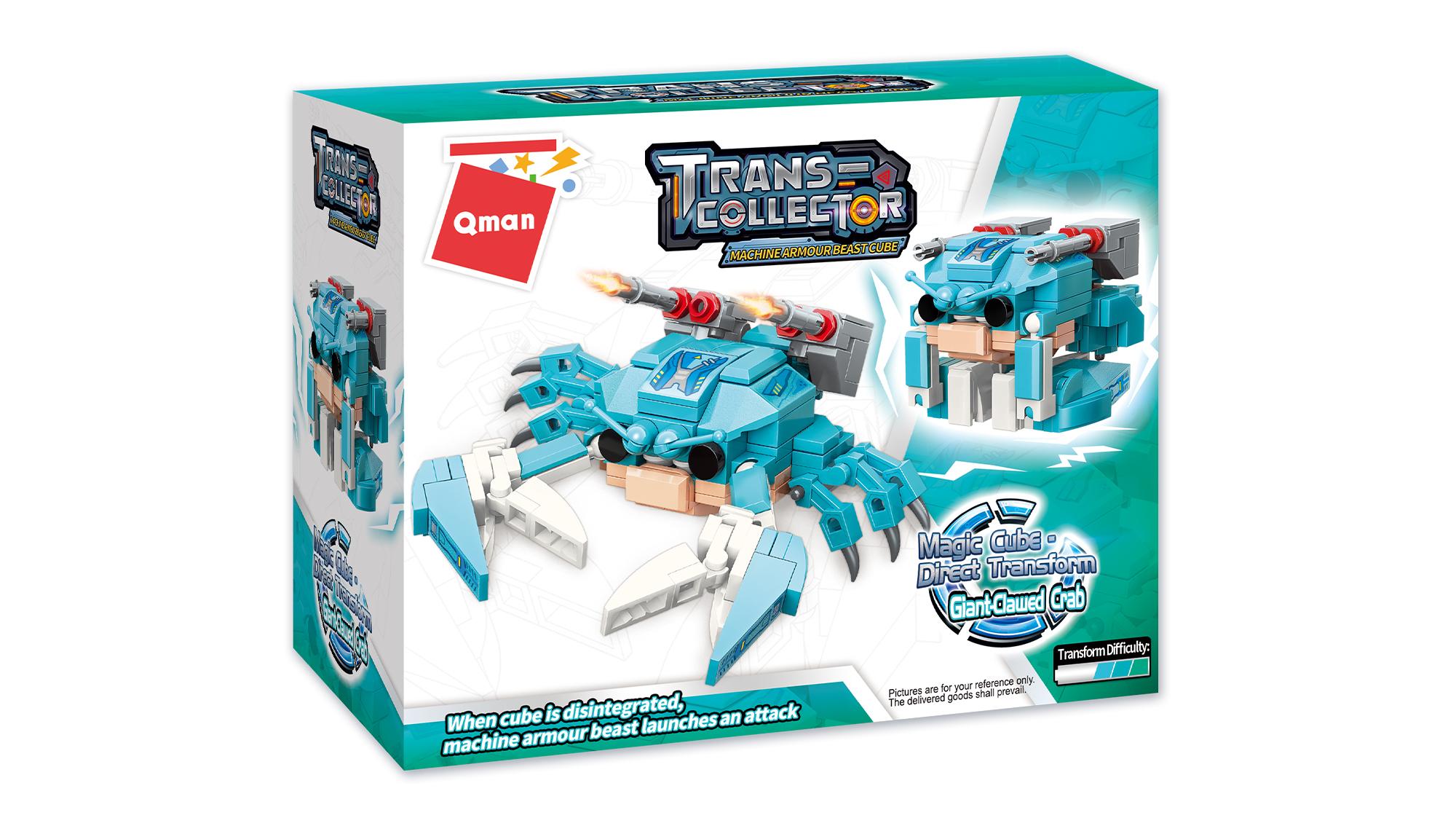 Qman Giant-Clawed Crab 41208