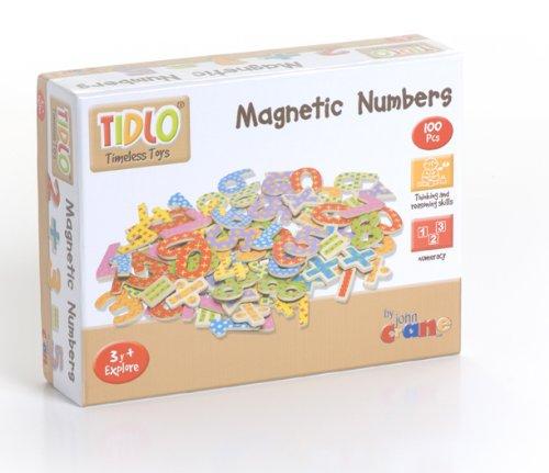Tidlo dřevěné magnetické číslice 100ks