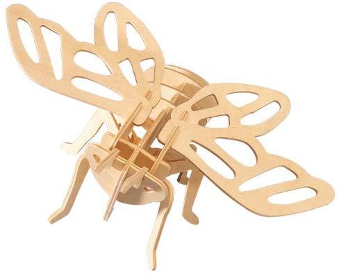 Woodcraft Dřevěné 3D puzzle cikáda
