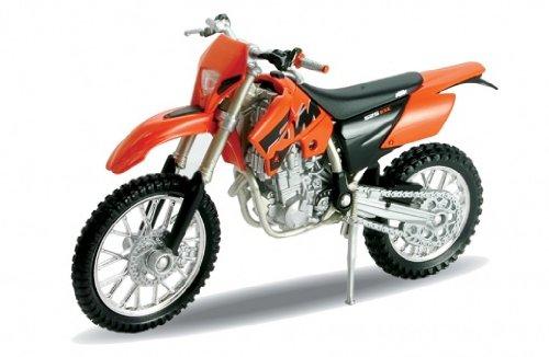 Welly - Motocykl KTM 450SX Racing model 1:18 oranžový