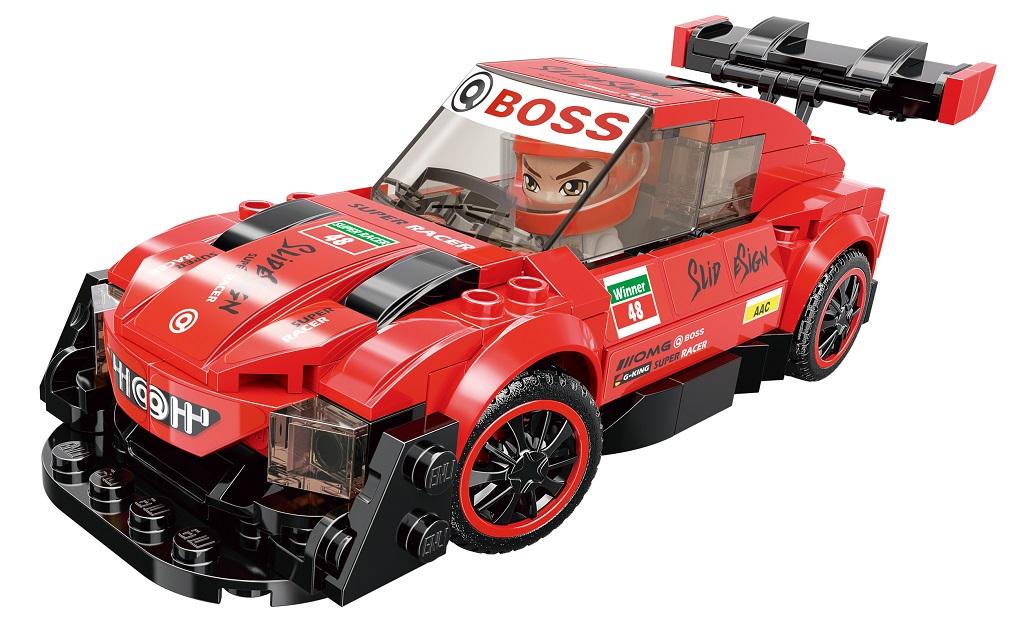 Qman MineCity 4201-2 Red Light GT-07