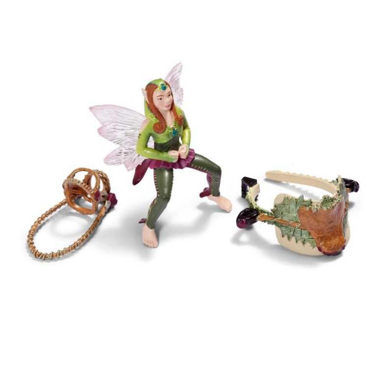 Figurka Schleich - Postroj na koně lesní Elf