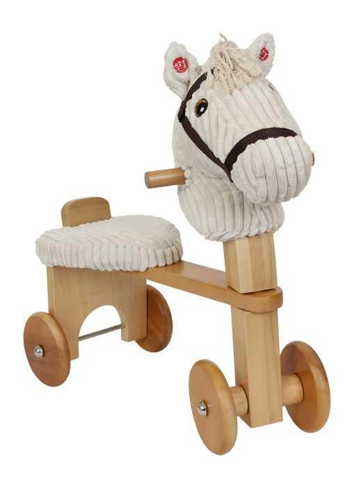 Dřevěné hračky - Odrážedlo s polstrovaným sedlem - Fredo