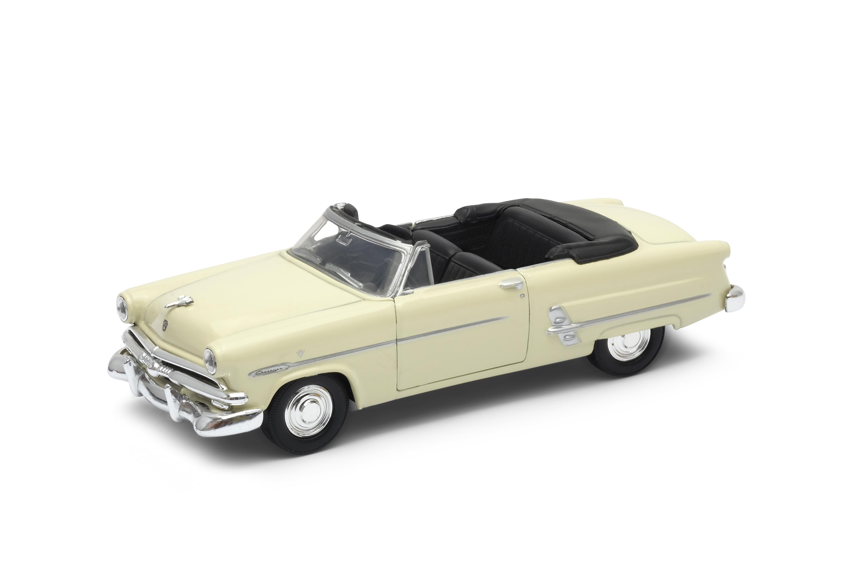 Welly - Ford Crestline Sunliner (1953) cabrio model 1:34 krémový