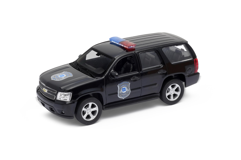 Welly - Chevrolet Tahoe (2008) model 1:34 černý Police