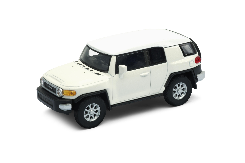 Welly - Toyota FJ Cruiser model 1:34 bílá