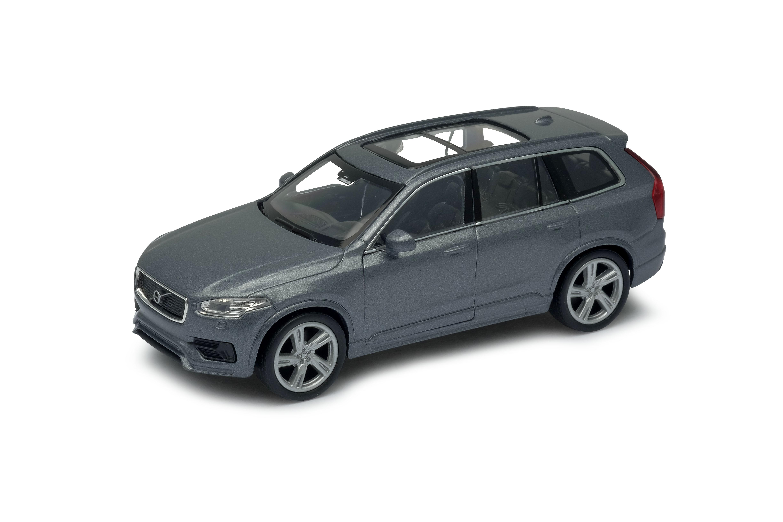Welly - Volvo XC90 model 1:34 šedé