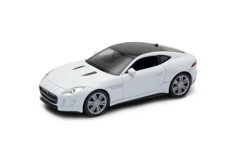 Welly - Jaguar F-Type Coupe model 1:34 stříbrný