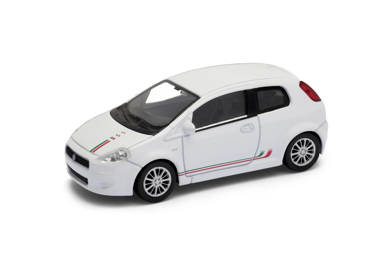 Welly - Fiat Grande Punto model 1:43  červená