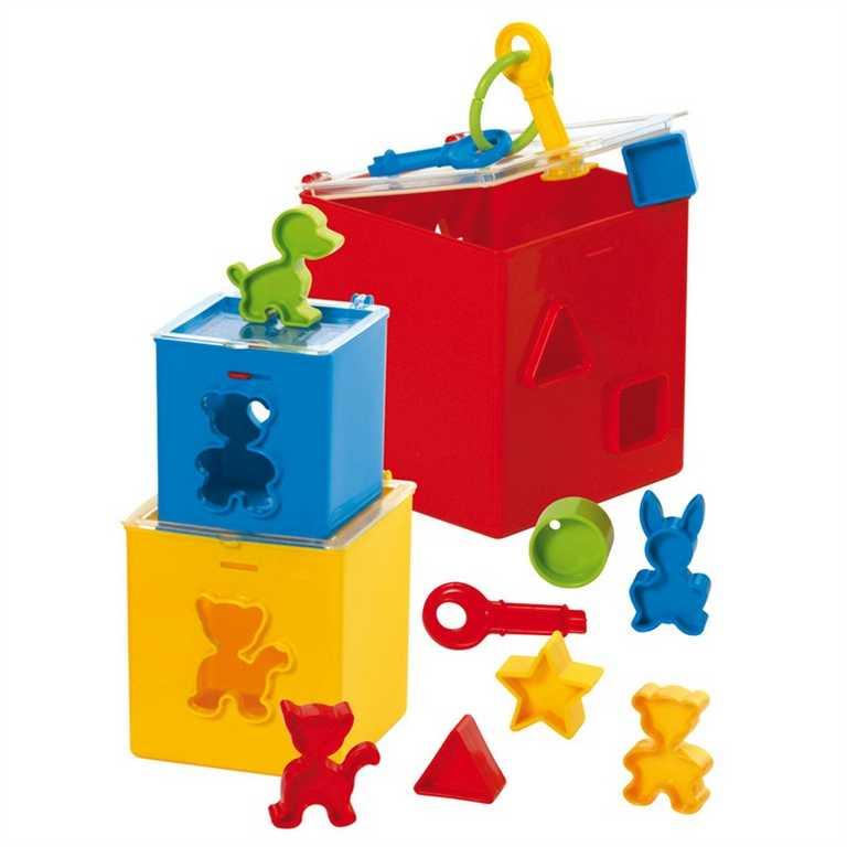 Gowi Krabička na zámek s vhazováním tvarů