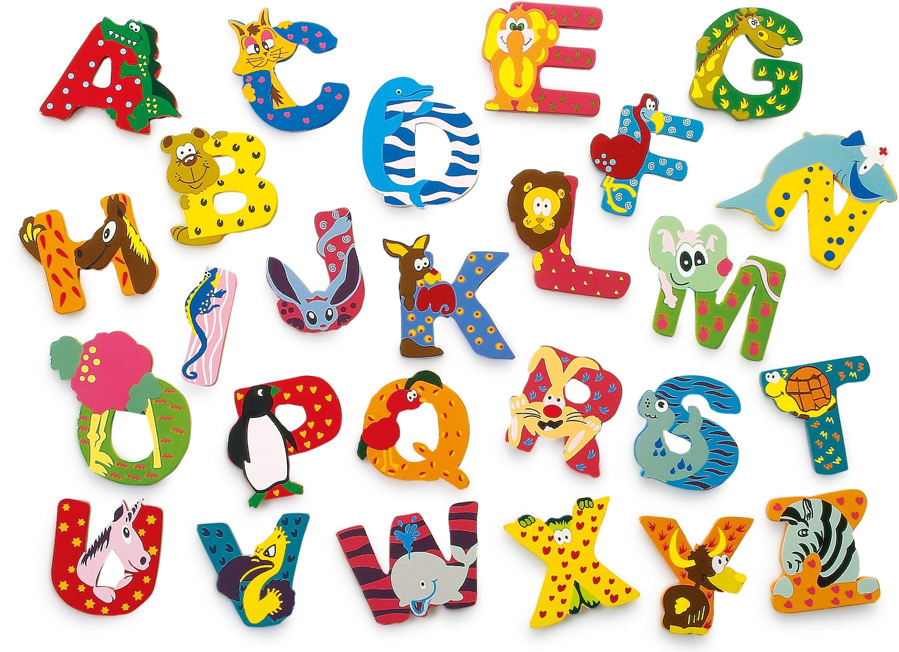 Fotografie Dřevěná abecedy 1ks - písmenko D