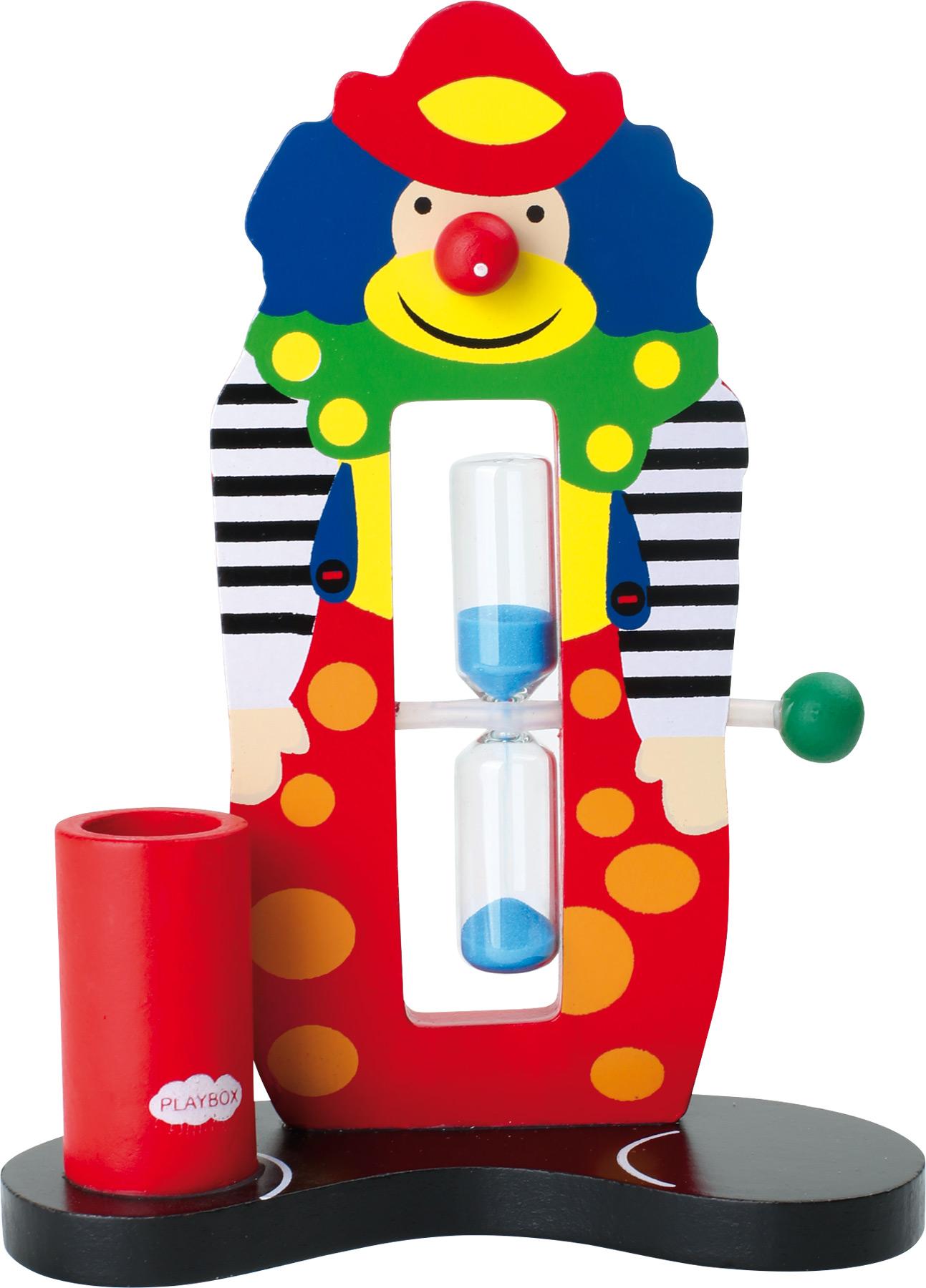 Small Foot  Přesýpací hodiny klaun