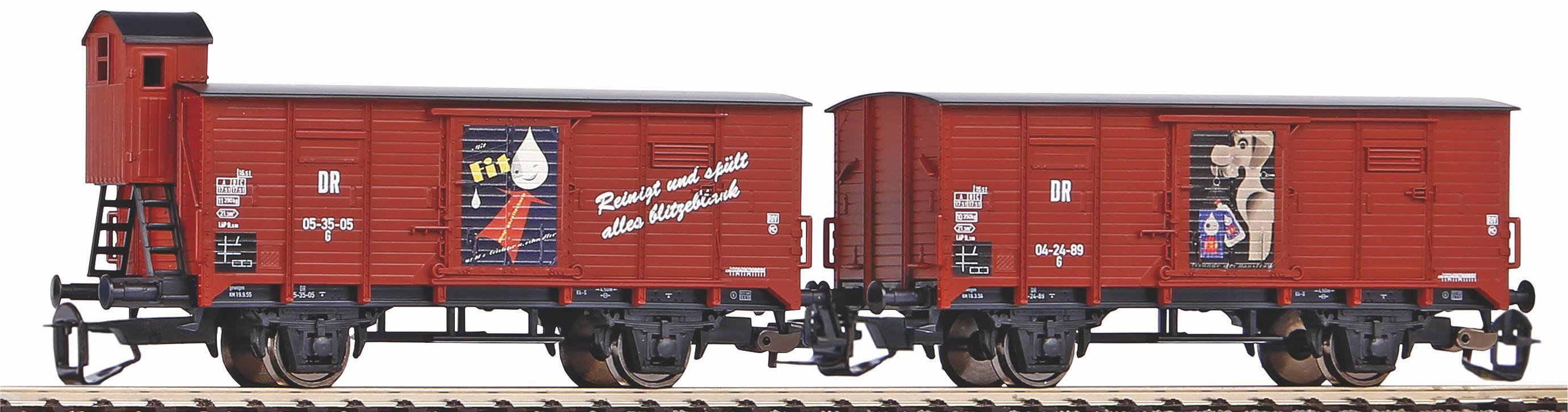 "Piko Sada 2 krytých vagónů G02 ""Fit"" DR III - 47032"
