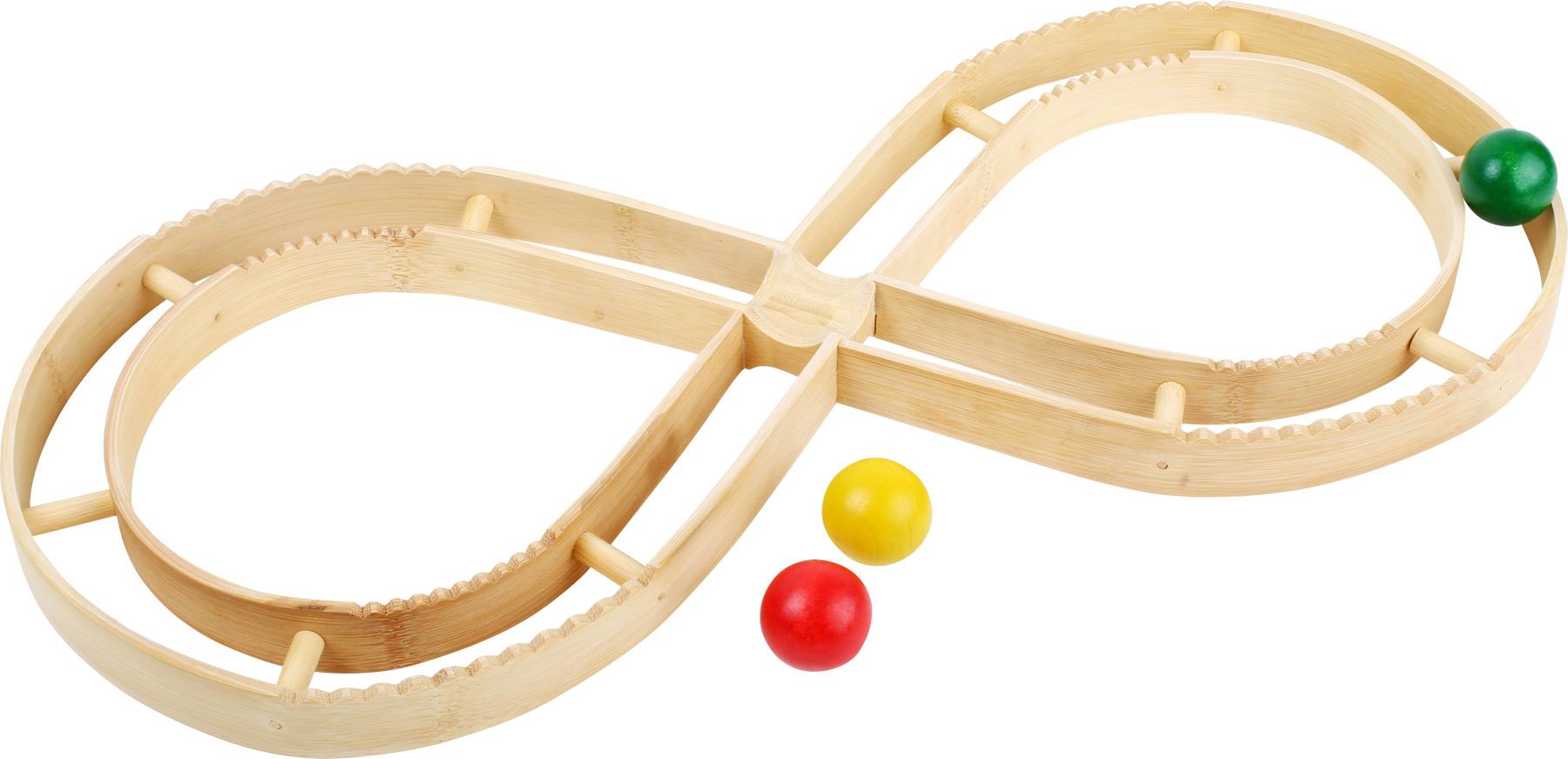 Small Foot Dřevěná kuličková elipsa