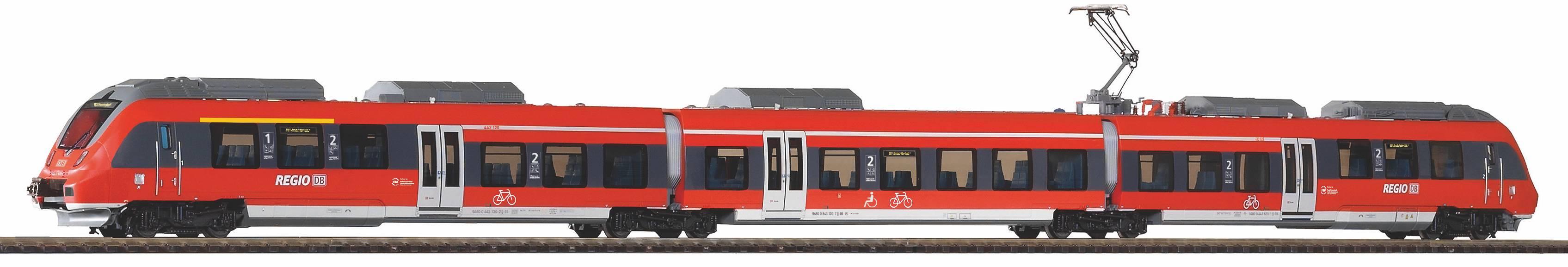 "Piko Elektrický vlak BR 442 ""Talent 2"" DB AG VI - 47245"