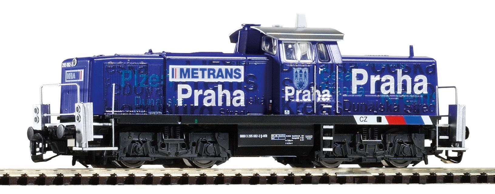 Piko Dieselová lokomotiva BR 295 Metrans VI - 47265