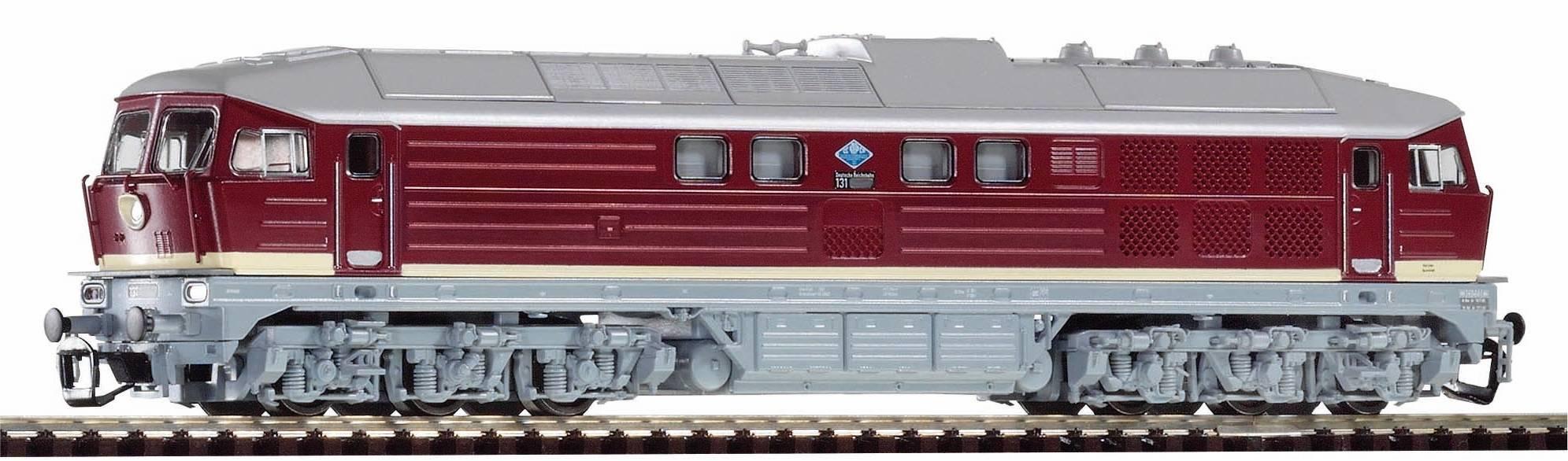 "Piko Dieselová lokomotiva BR 131 ""Ludmilla"" DR IV - 47327"