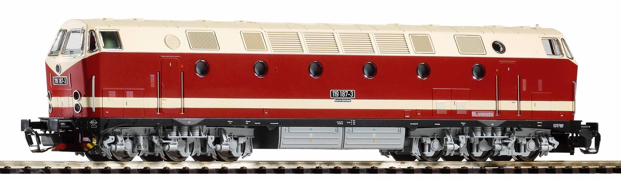 Piko Dieselová lokomotiva vč. dig. dekodéru BR 119 DR IV - 47345