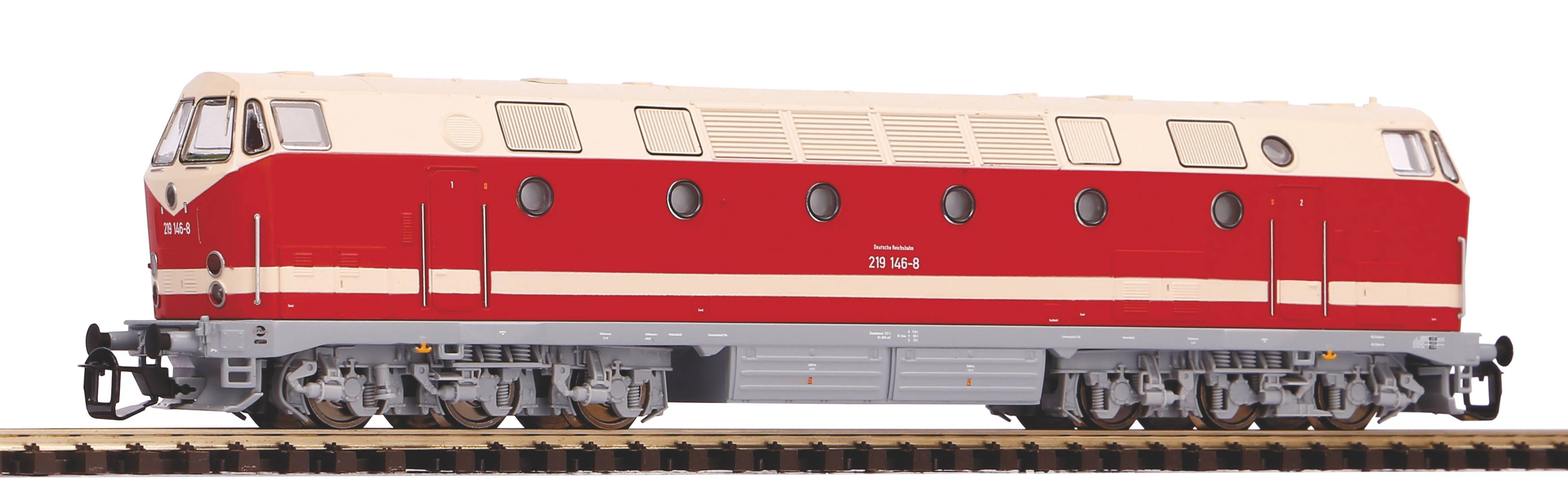Piko Dieselová lokomotiva BR 219 DR IV - 47346