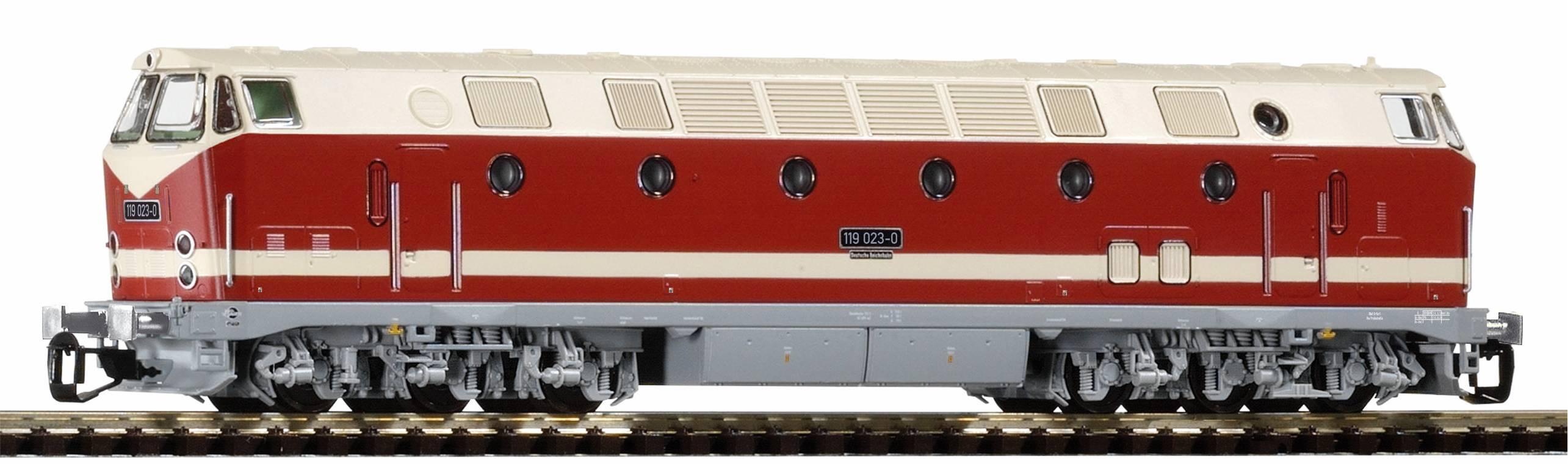 Piko Dieselová lokomotiva BR 119 DR IV - 47347