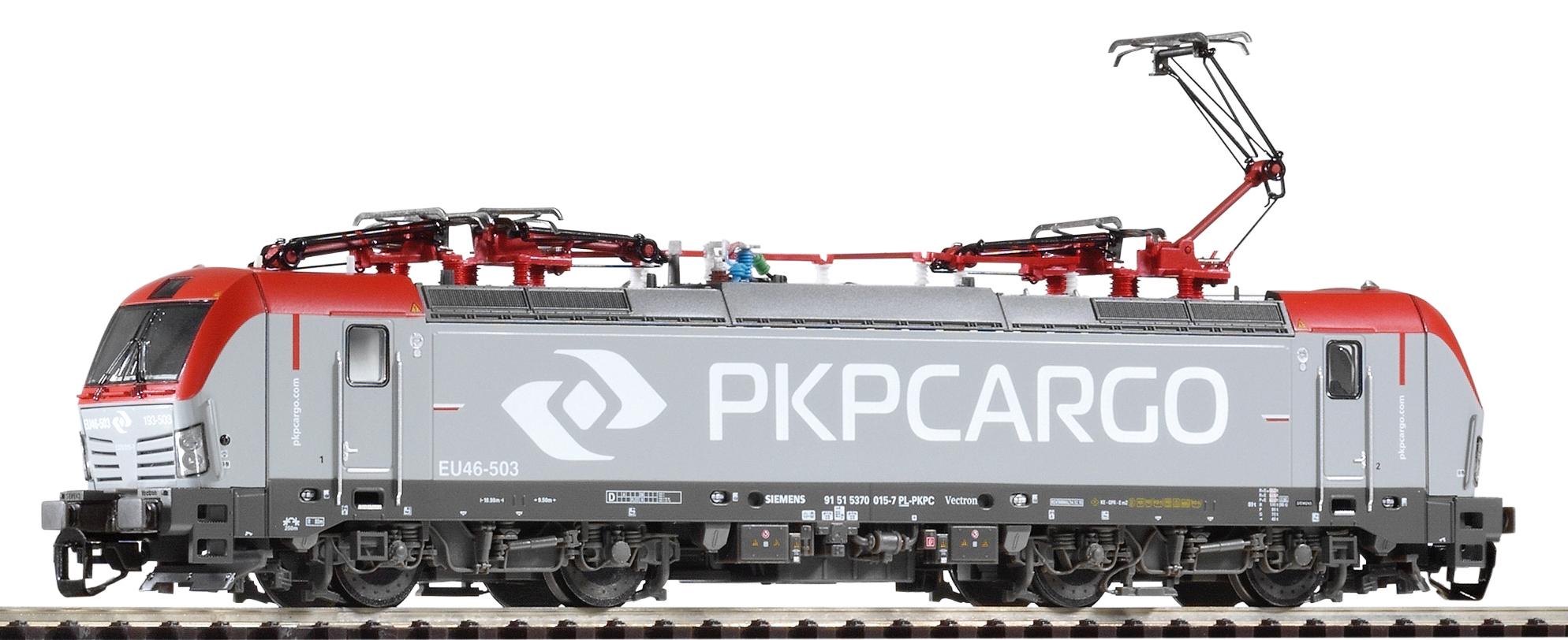 Piko Elektrická lokomotiva Vectron BR 193 Cargo s 4 pantografy PKP VI - 47384