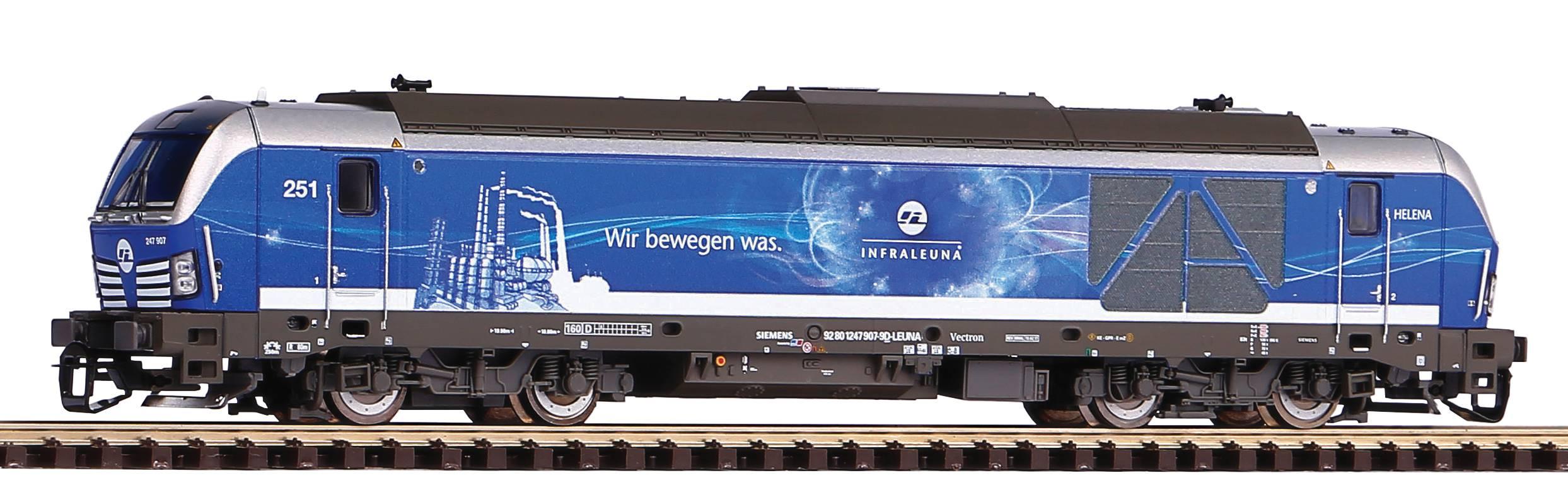 Piko Dieselová lokomotiva BR 247 Vectron InfraLeuna VI - 47397