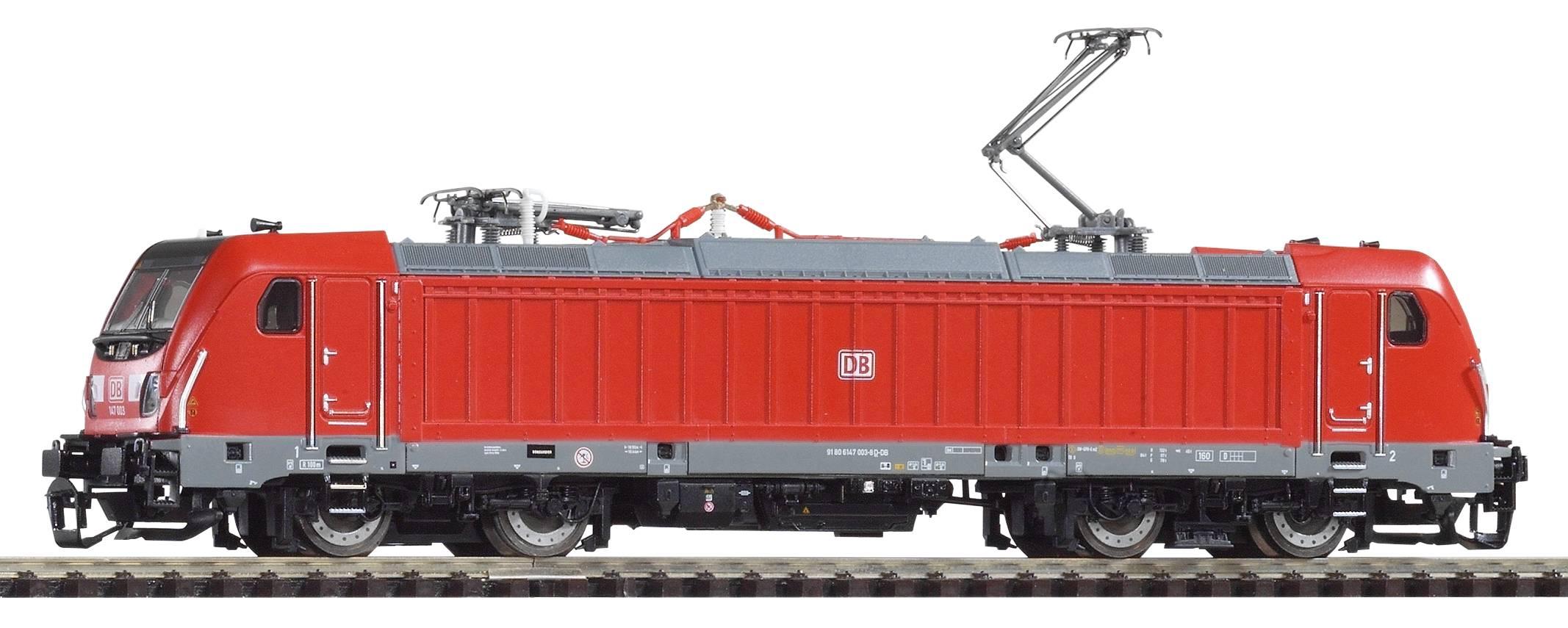 Piko Elektrická lokomotiva BR 147 Traxx AC3 s 2 pantografy DB AG VI - 47452