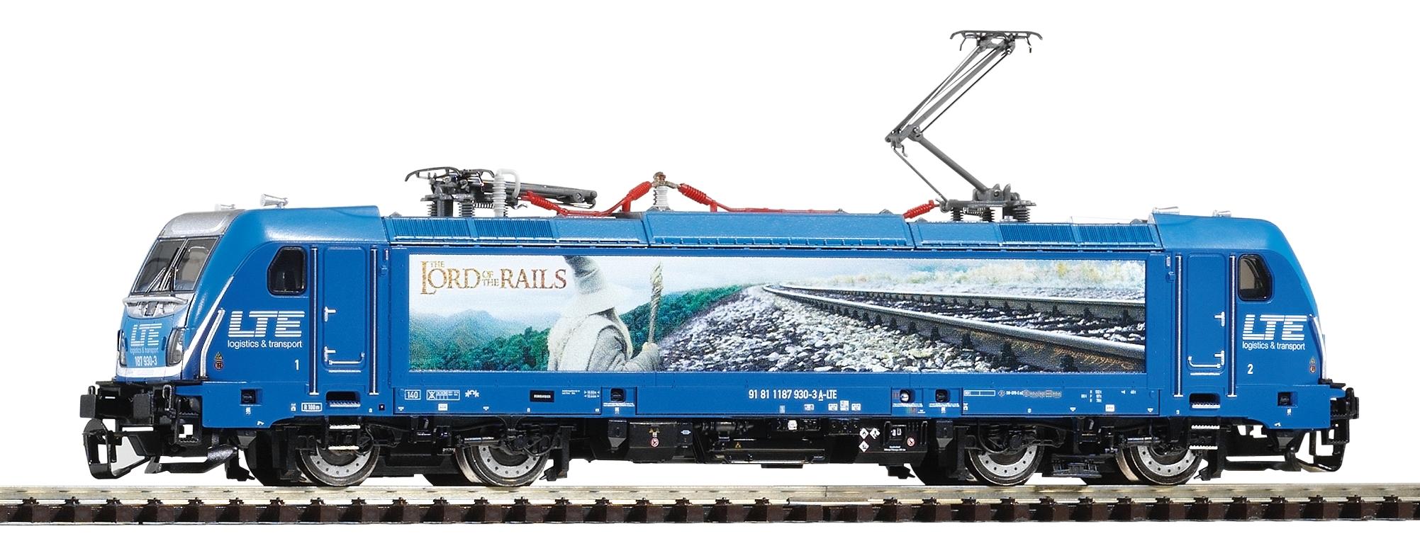Piko Elektrická lokomotiva BR 187 Traxx AC3 s 2 pantografy LTE VI - 47453